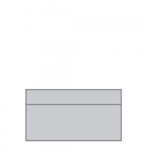 Stockholm modular, 2 seater, no arm