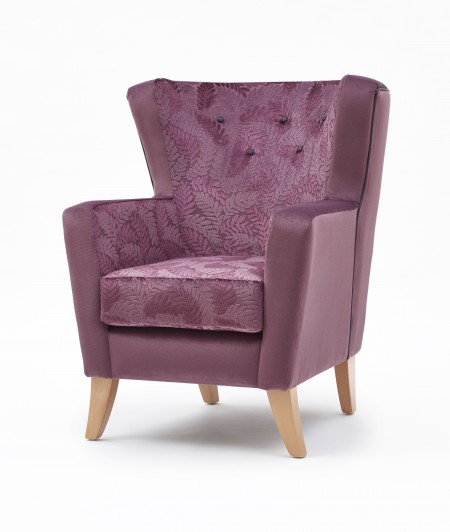 Lismore mid back lounge chair