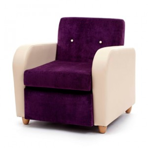 Brunswick mid back lounge chair