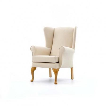 Alexander Queen Anne Care Home Chair - Cream