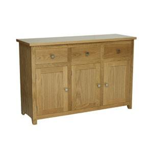 New England Sideboard, 3 door, 3 drawer
