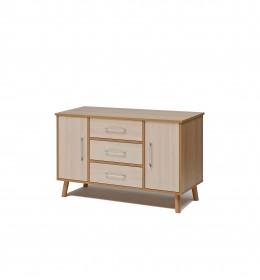 Sideboard, high, 3 drawer