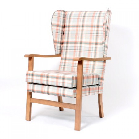 Deepdale with wings lounge chair