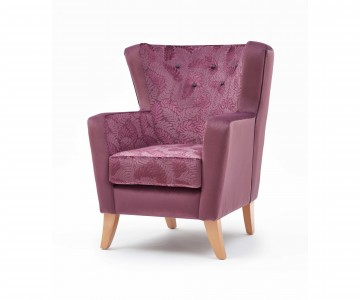 Bespoke Contract Furniture With Buttons, Piping & Contrasting Fabrics