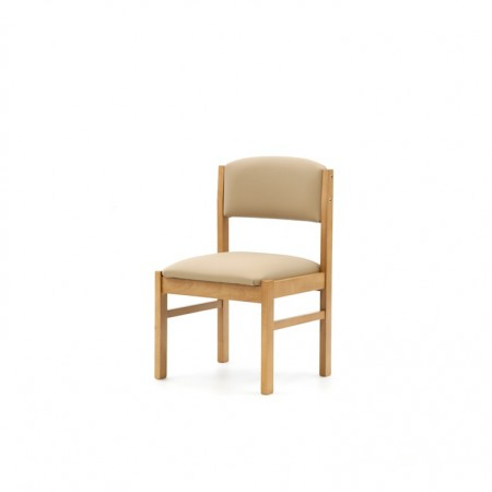 Oakdale care home dining chair covered in waterproof vinyl