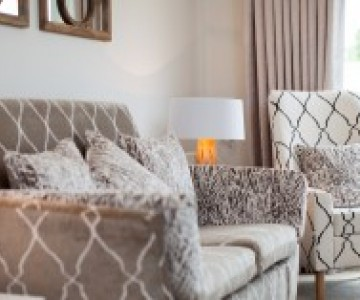 Care Home Chairs In Contemporary Residential Setting