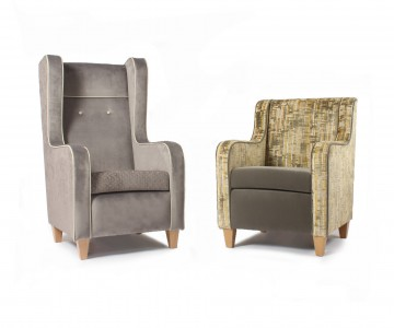 Our Luxurious Solway Lounge Chairs Are Perfect For Hotels & Care Homes