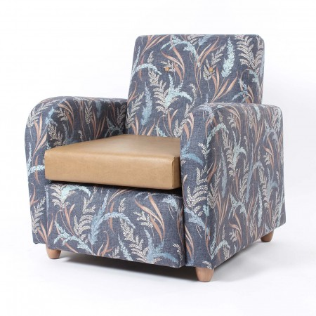 Brunswick mid back lounge chair