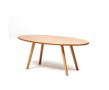Use our Manhattan dining and coffee tables for a sleek retro feel