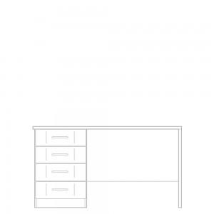 Geneva Dressing table