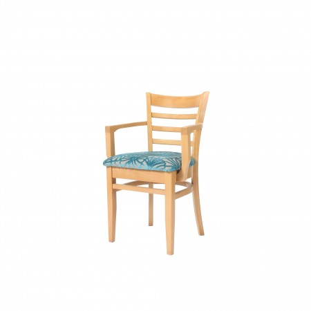 St Neots upholstered arm dining chair