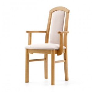 Torino arm dining chair
