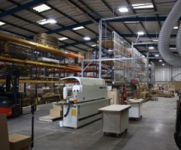 Bespoke Furniture For Contract Settings Now Even Better - Craftwork Expands To New Factory