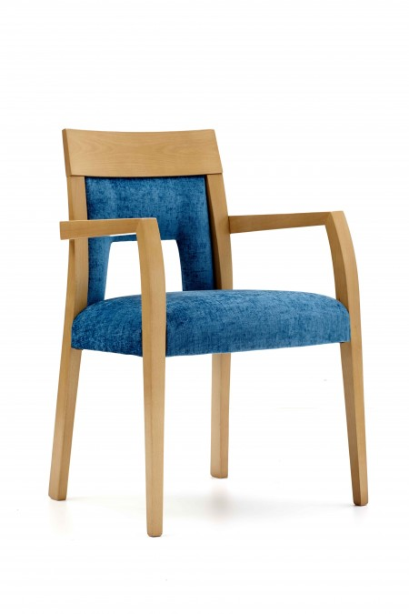 Riano arm dining chair