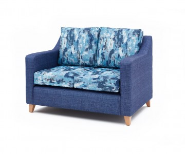 Bespoke Contract Furniture With Contrasting Fabrics