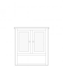 Dresser Top, 2 door