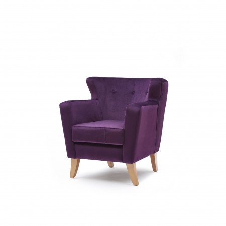 Lismore low back hotel chair