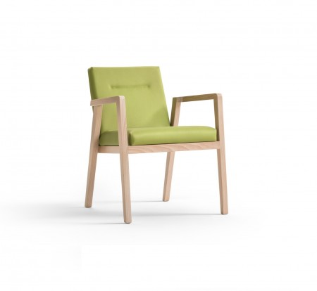 Imola arm dining chair
