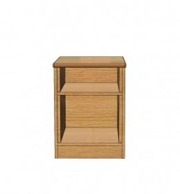 Bedside Cabinet - Open