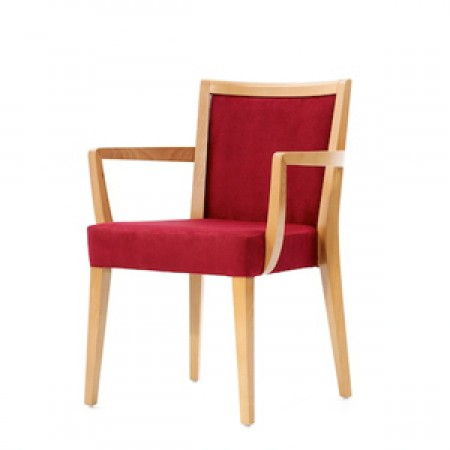 Arezzo arm dining chair