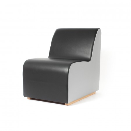 Weighted foam chair for challenging behaviour settings eg autism