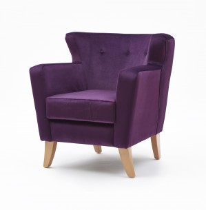 Lismore low back lounge chair