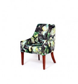 Rona tub chair for hotels, sports and social clubs and care homes - here in Panaz fabric