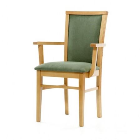 Genoa arm dining chair