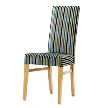 Enna high back dining chair