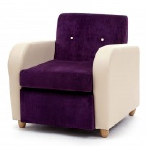 Home Cinema Chairs - The Brunswick 'Retro' Arm Chair Perfect For Hotel & Care Home Cinemas