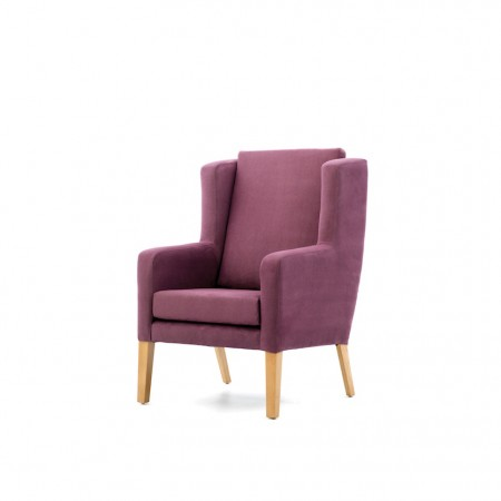 Colonsay high back with wings lounge chair