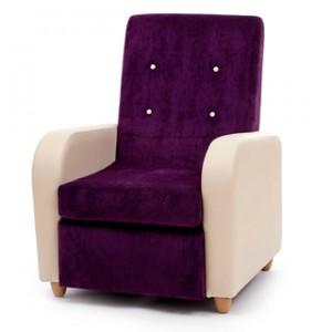 Brunswick high back lounge chair