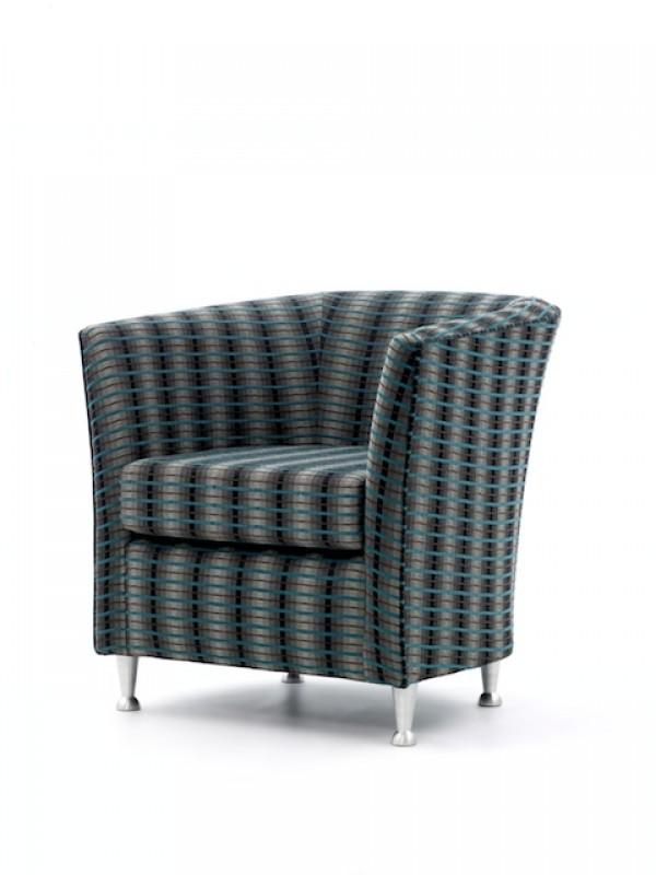 Tub Chairs / Jura tub - metal leg tub chair - Craftwork Contract ...